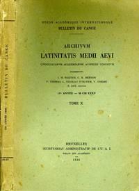 Archivum Latinitatis Medii Aevi