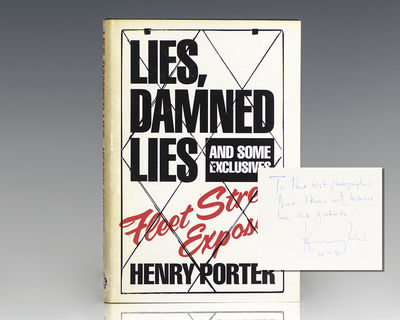 London: Chatto & Windus, 1984. First edition of Porter's revealing expose of the Fleet Street Press....