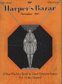 image of Harper's Bazar (Harper's Bazaar) November, 1927 - Cover Only