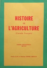 image of Histoire de l'agriculture (Canada français)