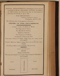 1865 General Orders, Including Many Regarding Lincoln's Assassination