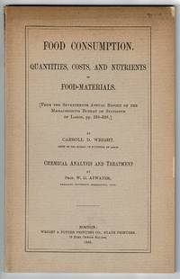 Food consumption. Quantities, costs, and nutrients of food-materials