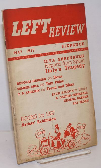 London: The Left Review, 1937. pp. 194-256, single issue of the staplebound journal, illus.; wraps w...