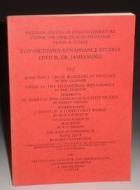 Elizabethan & Renaissance Studies 71:2