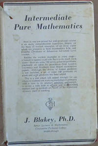Intermediate Pure Mathematics