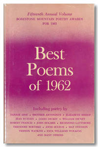BEST POEMS OF 1962  BORESTONE MOUNTAIN POETRY AWARDS 1963 ..