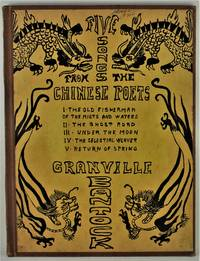 Five Songs from The Chinese Poets by L. Cranmer-Byng set to music by Granville Bantock cover design by Alvin Langdon Coburn