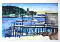 image of Fishing Village, Maine