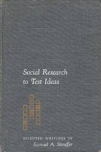 Social Research to Test Ideas.