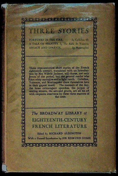 London: George Routledge & Sons, 1927. Hardcover. Very Good/Good+. Hardcover. The Broadway Library o...