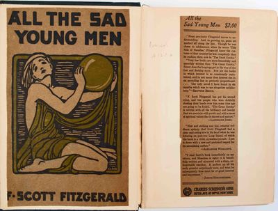 Fitzgerald, F. Scott. All the Sad Young Men. New York: Scribner's, 1916. First edition. Bruccoli A12...