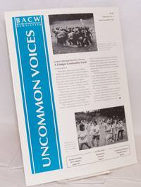 Uncommon Voices: BACW newsletter; vol. 12, #4, August/Spetember 1992