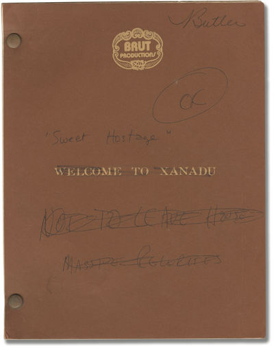 : Brut Productions, 1975. Revised Draft script for the 1975 television film, here under the working ...