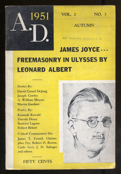 New York: A.D. Publishing Company, 1951. Softcover. Very Good. First edition. Very good in wrappers....