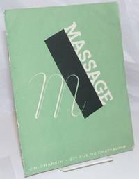 image of Massage [cover title] Le Massage [titlepage]