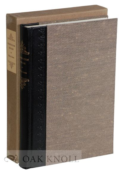 New York: The Limited Editions Club, 1971. quarter leather, slipcase. Limited Editions Club. tall 8v...