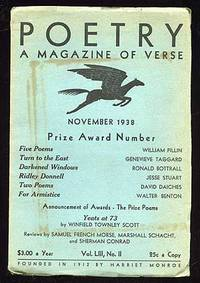 Poetry: A Magazine of Verse November 1938