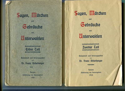 Sarnen, Switzerland: Huber, Stans, 1909-1910. Paperback. Good. Octavo (20.5 cm), pp. 172, vi (Eriter...