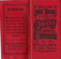 image of THE NEW RED BOOK INFORMATION GUIDE TO QUEENS BOROUGH CITY OF NEW YORK WITH  INDEXED MAP