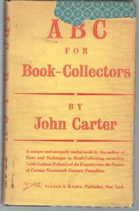 ABC FOR BOOK-COLLECTORS
