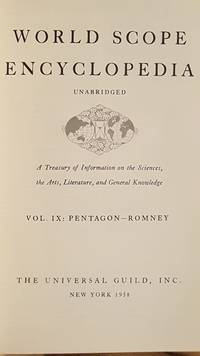 World Scope Encyclopedia Vol IX Pentagon-Romney