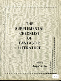 image of THE SUPPLEMENTAL CHECKLIST OF FANTASTIC LITERATURE