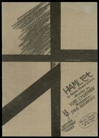 image of Hamlet by William Shakespeare: Leicester Haymarket Theatre Programme
