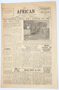 image of The African: a Catholic newspaper for Nyasaland and Rhodesia. Vol. 8 no. 4 (Feb. 15, 1957)