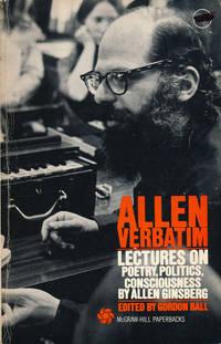 image of Allen Verbatim  Lectures on Poetry, Politics, Consciousness