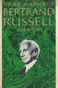 image of The Autobiography of Bertrand Russell, 1944-1969
