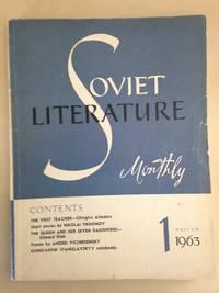 Soviet Literature Monthly 1963 No. 1
