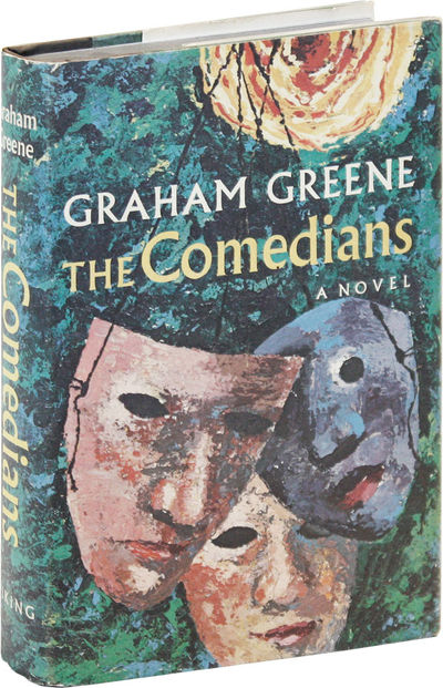 New York: Viking Press, 1966. First American Edition. First Printing. Octavo; green marble-patterned...