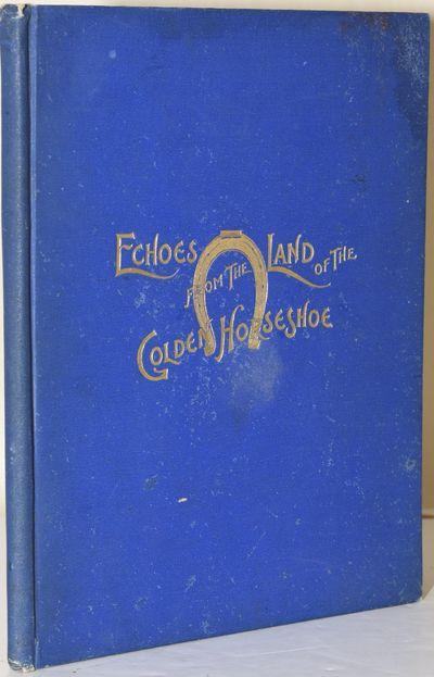 New Market, VA: Henkel & Company, 1897. First Edition. Hard Cover. near Very Good binding. In the pu...