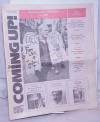 image of Coming up! the gay/lesbian newspaper and calendar of events for the Bay Area [aka San Francisco Bay Times] vol. 10, #4, January 1989; Treating the Epidemic in 1989