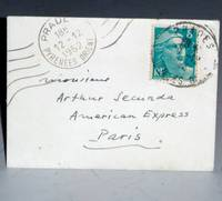 image of Thank You Note: To Arthur Secunda, December 12, 1952)