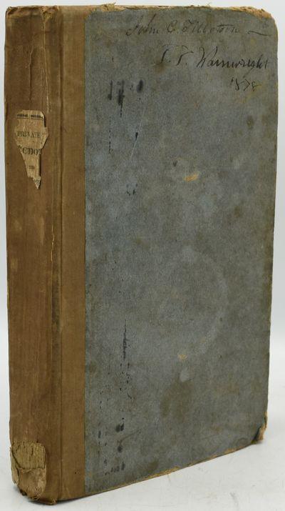 Philadelphia; New York; Boston: Carey, Lea & Carey; G. & C. Carvill; Munroe & Francis, 1828. Hard Co...