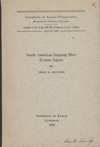 image of North American Jumping Mice (Genus Zapus)