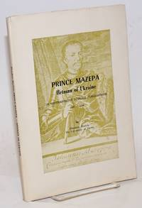 Prince Mazepa, Hetman of Ukraine in contemporary English publications 1687-1709