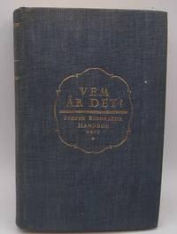 image of Vem Ar Det? Svensk Biografisk Handbok 1937