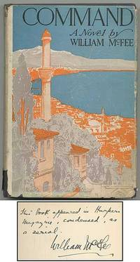 Garden City: Doubleday Page, 1922. Hardcover. Fine/Very Good. First edition. A trifle soiled, just a...