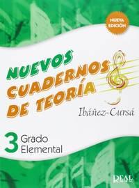 Cuadernos De Teoria, Grado Elemental Volumen 3