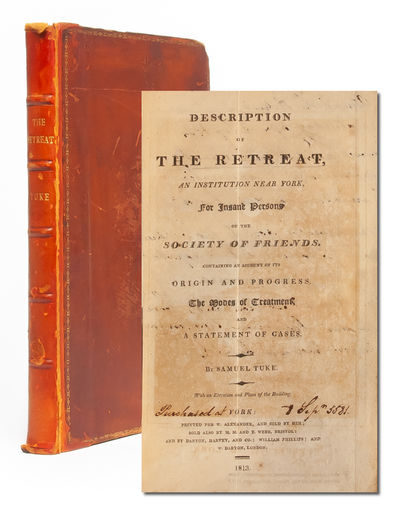 York: W. Alexander, 1813. First edition. Contemporary calf rebacked to style with gilt and five rais...