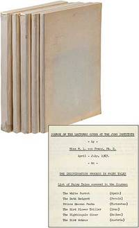 Five Volumes of Lectures Given at the Jung Institute Concerning Fairy Tales [later published as An Introduction to the Interpretation of Fairytales]