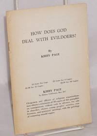 image of How does God deal with evildoers