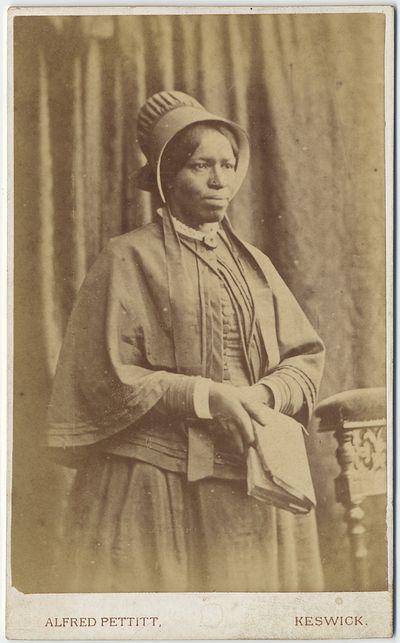 Carte De Visite Photograph Of Mrs Amanda Smith Former Slave And Methodist Evangelist Keswick Alfred Pettitt Circa Near Fine 2 X 4
