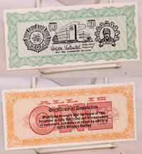 image of Certificate of completion / All is ONE [parody currency]