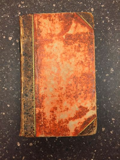 Paris: Chez Buisson, 1788. First Edition. Hardcover. Octavo, , 323, pages; G+; bound in 3/4 brown le...