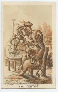 "image of Carte de visite sized cartoon ""The Dentist"""