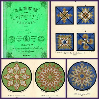 Paris, 1840s-50s. Coated stock wraps. Title page and 8 leaves. E. Hagnauer del et Lith. Imp. Marcill...