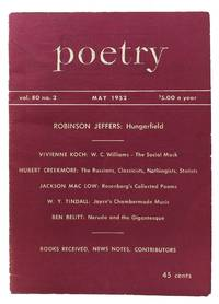 """""""Hungerfield"""" [as published in] POETRY.  Vol. 80, No. 2.  May 1952"""